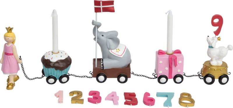 Kids By Friis - Prinesse fødselsdagstog