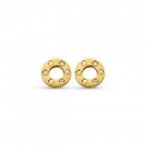 Wheel Earrings