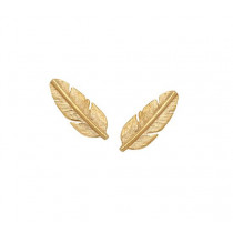 Feather Mini Earring