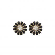 8mm Black Marguerites