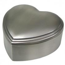 NOA - Fortinnet hjerte smykkeskrin 10x10