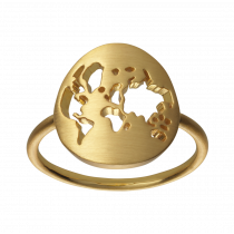 byBiehl Ring - Beautiful World - Forgyldt