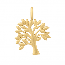 byBiehl Vedhæng - Tree of Life - Forgyldt