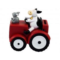 Kids By Friis - Sparebøsse Traktor