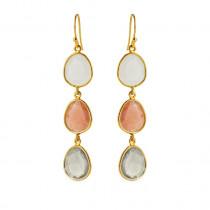 Moonestone Earrings