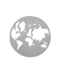 byBiehl Vedhæng - Beautiful World - Sølv