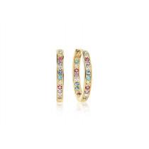 Corte Earrings - Multicoloured Zirconia