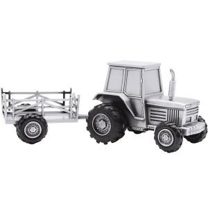 NOA - Fortinnet Sparebøsse Traktor m/vogn