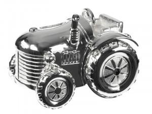 NOA - Sølvplet Sparebøsse Traktor