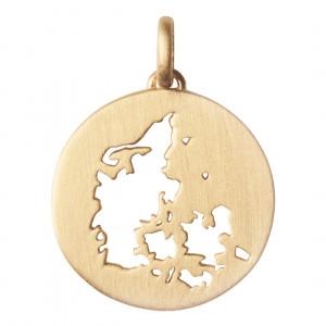 byBiehl Vedhæng - Beautiful Denmark - Forgyldt